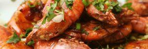 Ding's Kitchen-丁姐厨房-葱爆大虾